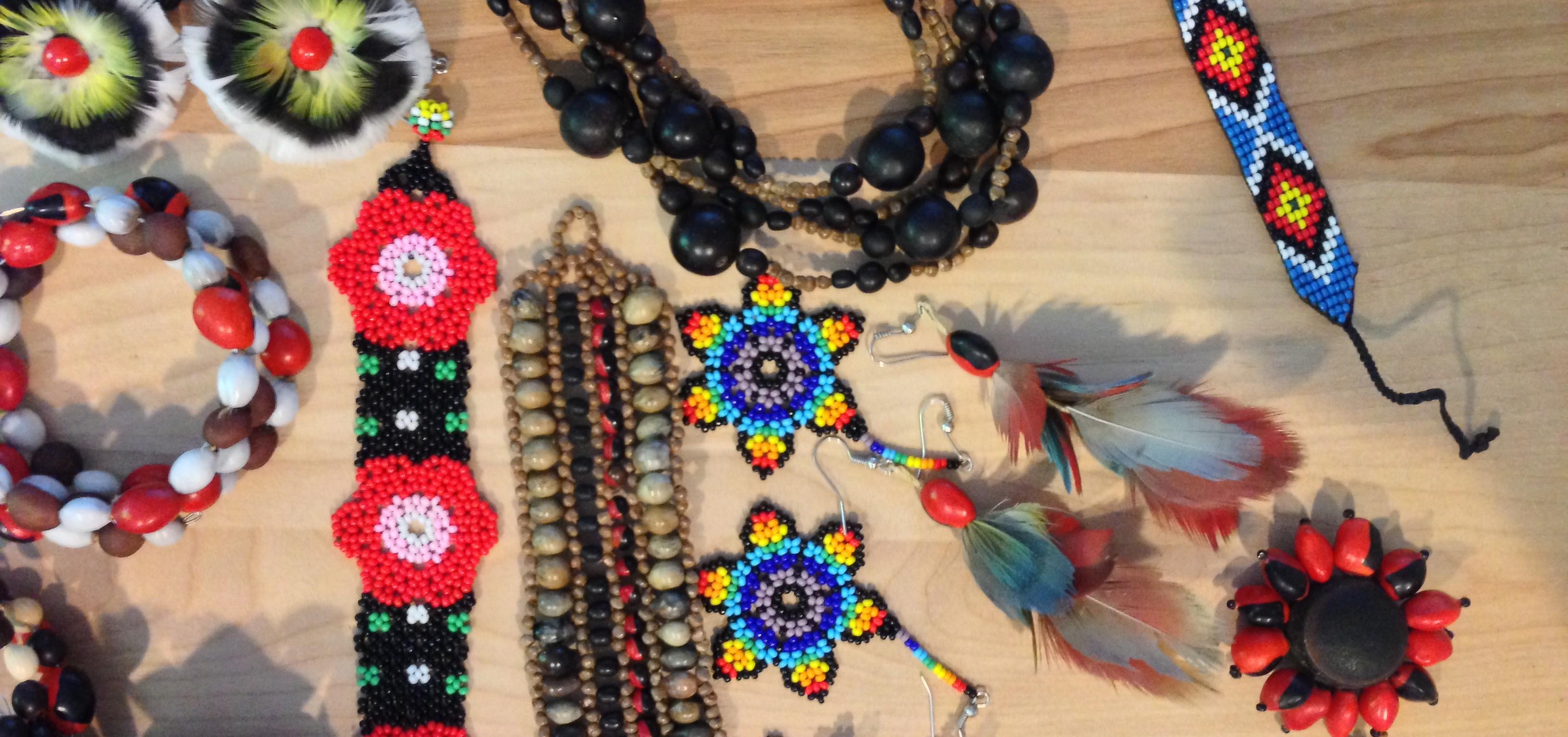 Amazonian jewelery